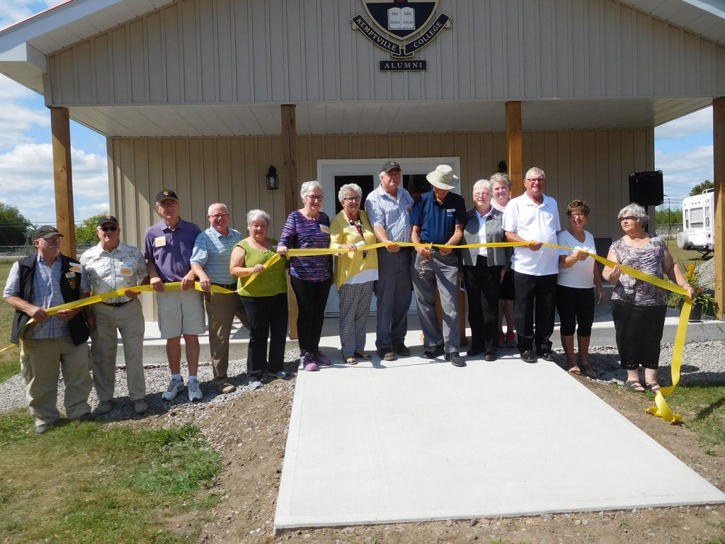 Official Opening of the Kemptville College Alumni Historical Building